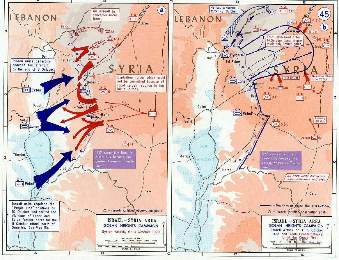 European Tribune - A History of War: Israel, Syria and the ...