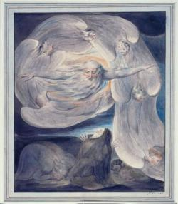 William Blake: The Lord Answering Job out of the Whirlwind