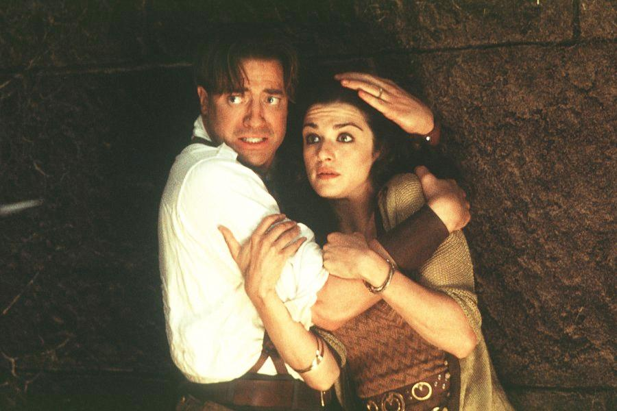 rachel weisz the mummy. in the first Mummy Movie