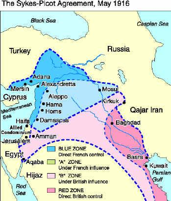 Luther Vandross 1916 Sykes Picot Agreement